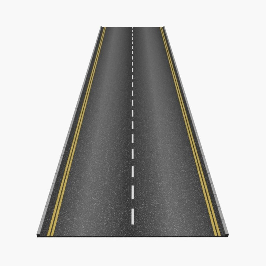 Interactive Roads royalty-free 3d model - Preview no. 1
