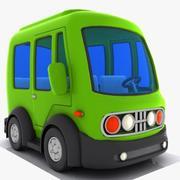 漫画ミニバス3 3d model