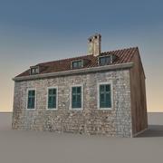 Edifício Italiano 015 3d model