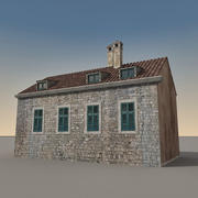 Italian Building 015 3d model