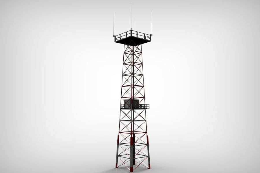 Torre royalty-free 3d model - Preview no. 9