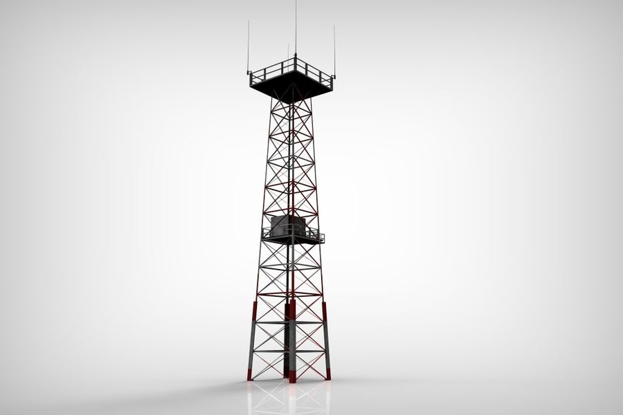 Torre royalty-free 3d model - Preview no. 2
