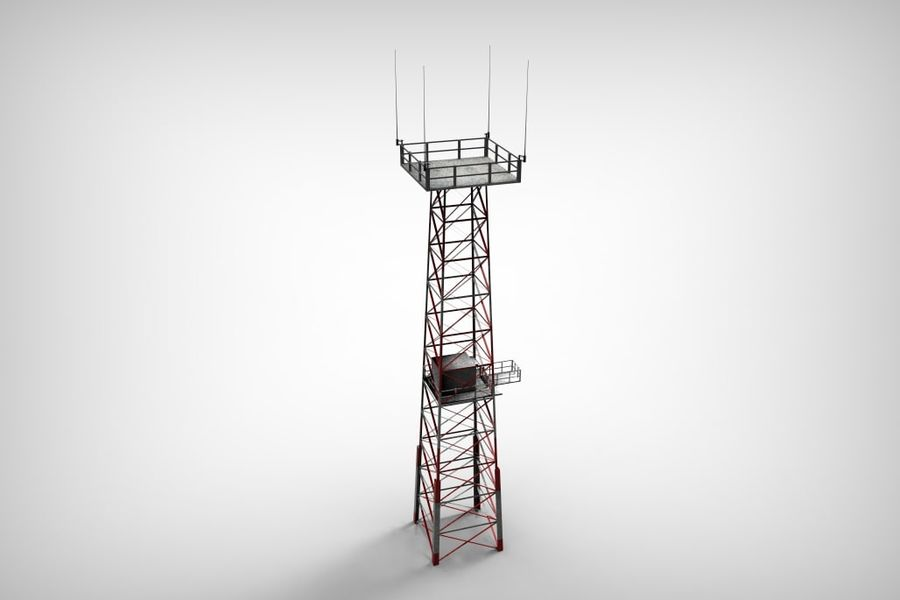 Torre royalty-free 3d model - Preview no. 12