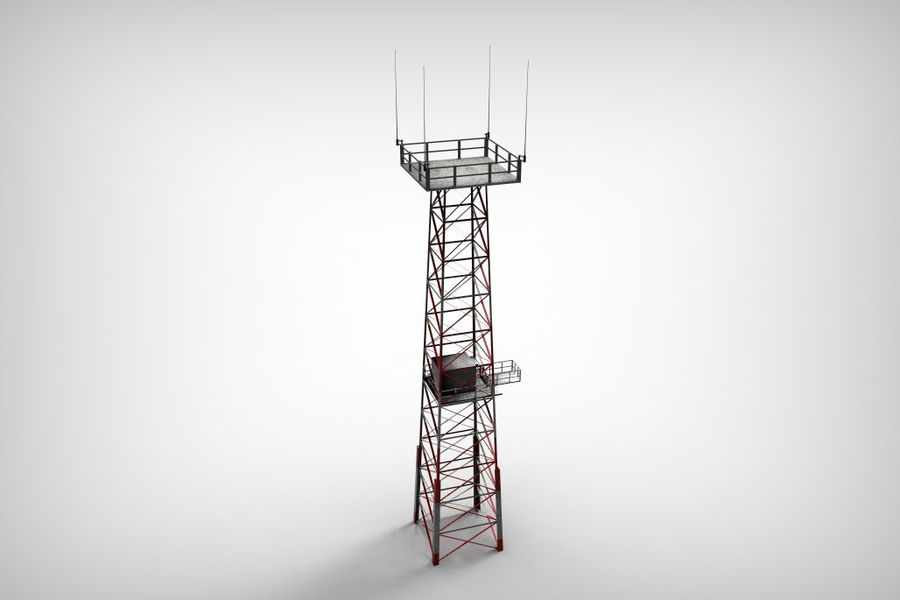 Torre royalty-free 3d model - Preview no. 7