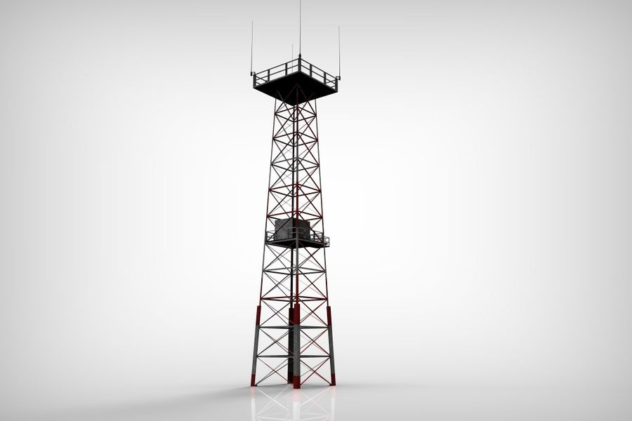 Torre royalty-free 3d model - Preview no. 10