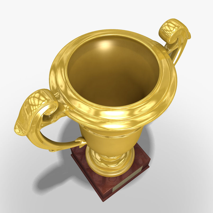 Prize cup royalty-free 3d model - Preview no. 3