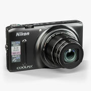 Nikon Coolpix S9500 Kompakt-Digitalkamera 3d model