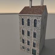 Italiaans gebouw 033 3d model