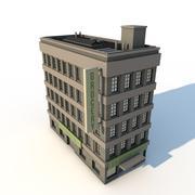 사무실 건물 3d model