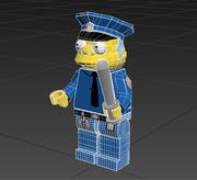 Lego Chief Clancy Wiggum 3d model