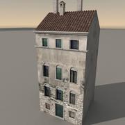 Italiaans gebouw 034 3d model
