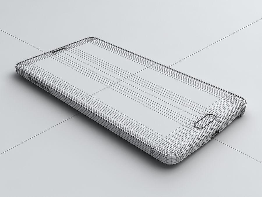 삼성 Galaxy Note 4 royalty-free 3d model - Preview no. 23