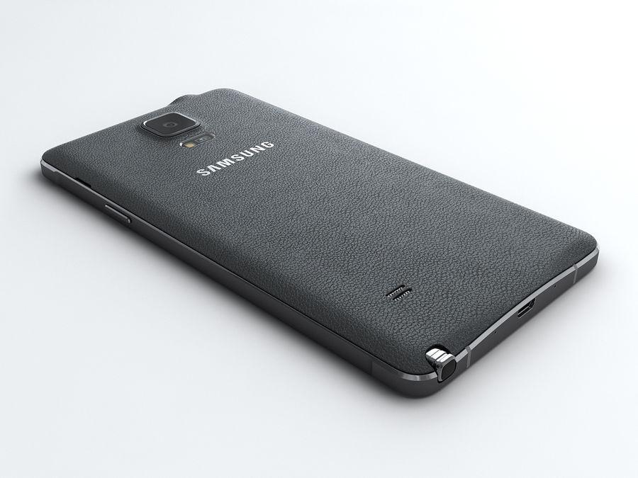 삼성 Galaxy Note 4 royalty-free 3d model - Preview no. 5