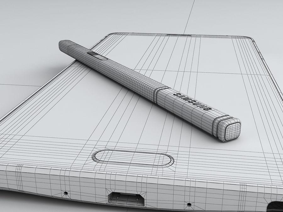 삼성 Galaxy Note 4 royalty-free 3d model - Preview no. 31