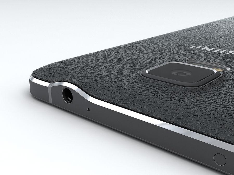 삼성 Galaxy Note 4 royalty-free 3d model - Preview no. 18