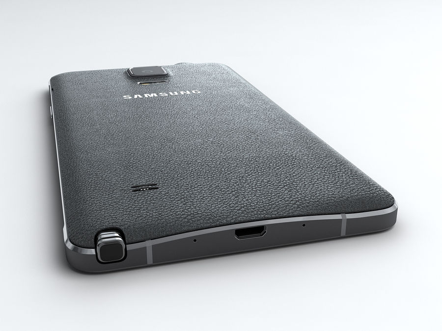 Samsung Galaxy Note 4 royalty-free 3d model - Preview no. 9