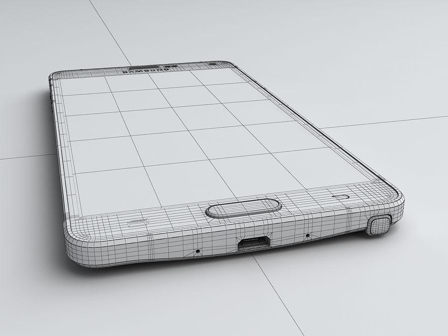 삼성 Galaxy Note 4 royalty-free 3d model - Preview no. 26