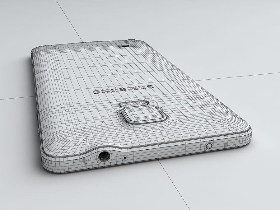 삼성 Galaxy Note 4 royalty-free 3d model - Preview no. 27
