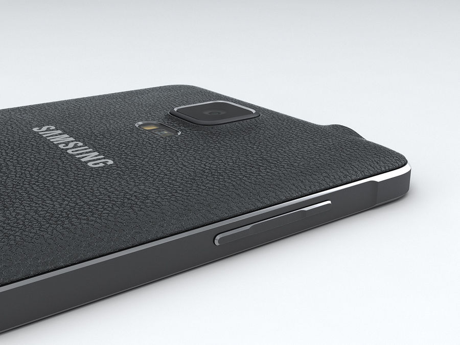 Samsung Galaxy Note 4 royalty-free 3d model - Preview no. 17