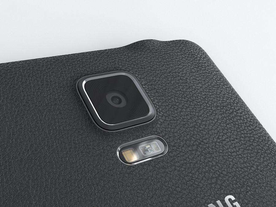 삼성 Galaxy Note 4 royalty-free 3d model - Preview no. 16
