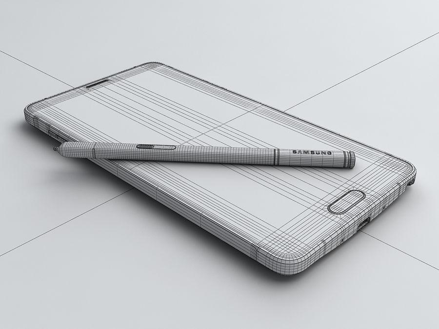 삼성 Galaxy Note 4 royalty-free 3d model - Preview no. 30
