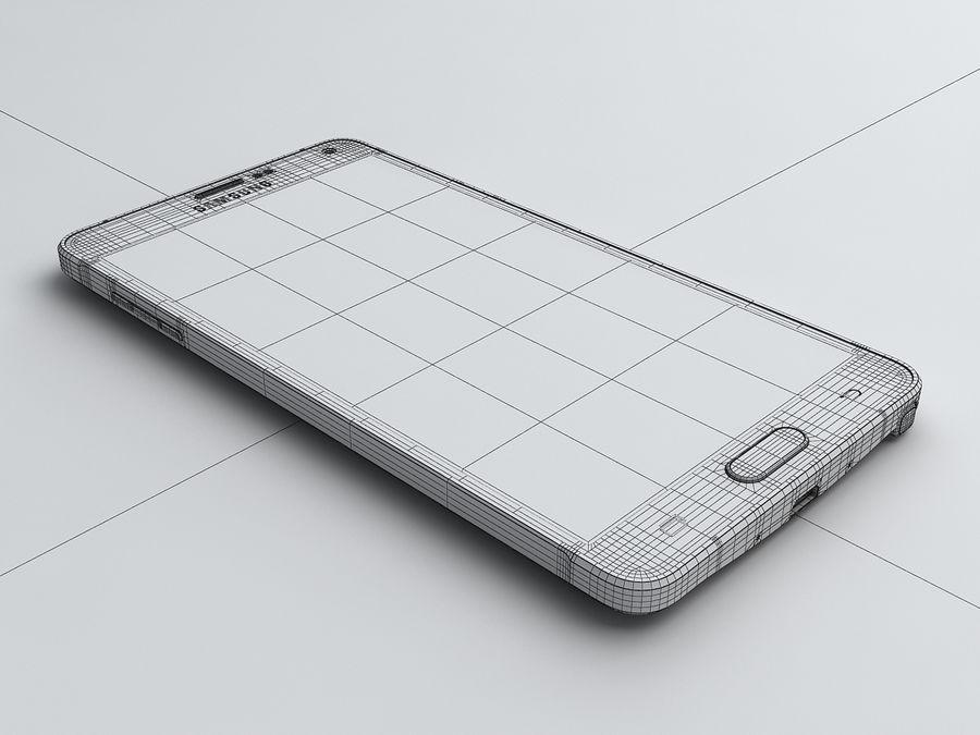 삼성 Galaxy Note 4 royalty-free 3d model - Preview no. 24