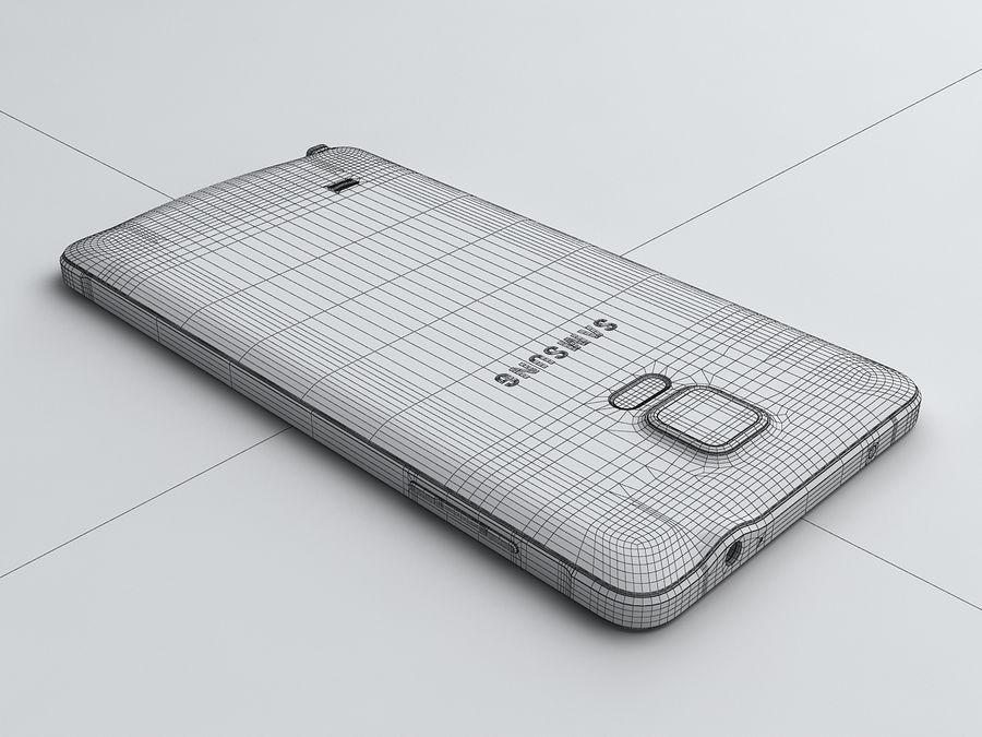 삼성 Galaxy Note 4 royalty-free 3d model - Preview no. 25