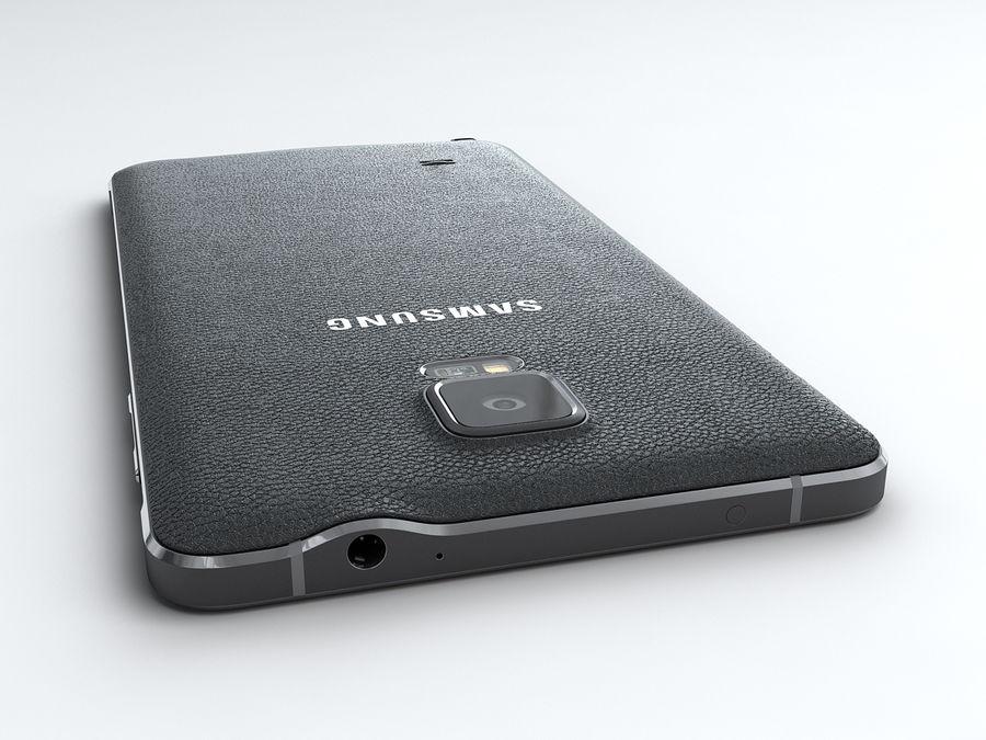 삼성 Galaxy Note 4 royalty-free 3d model - Preview no. 8