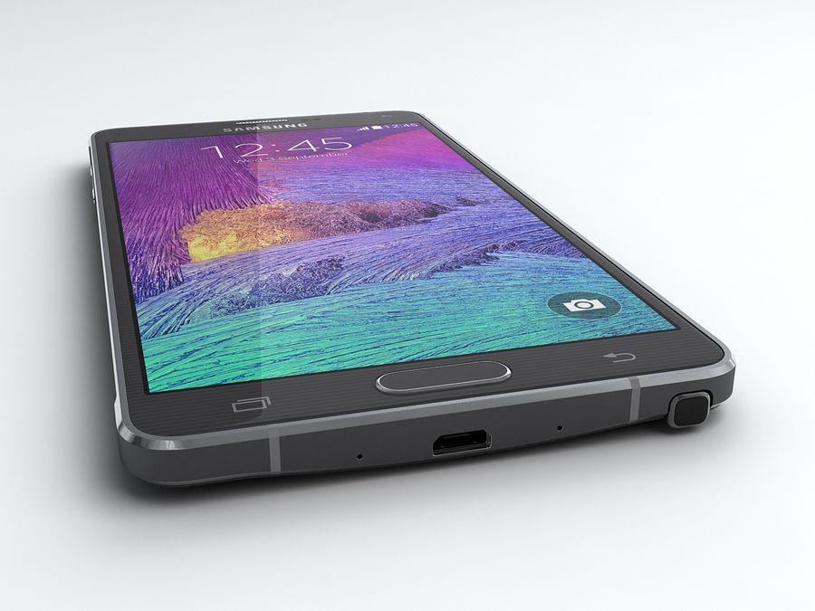 삼성 Galaxy Note 4 royalty-free 3d model - Preview no. 6