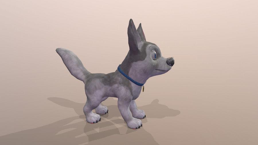 Dog Cartoon royalty-free 3d model - Preview no. 29