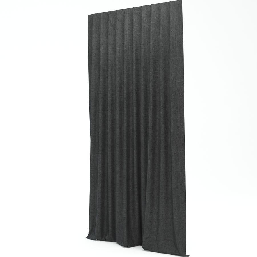 Vorhang royalty-free 3d model - Preview no. 2