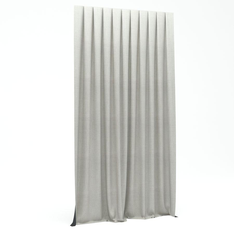 Vorhang royalty-free 3d model - Preview no. 3