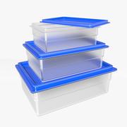 食品容器 3d model