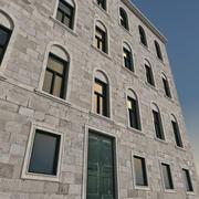 Italiaans gebouw 031 3d model