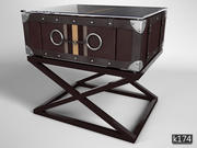 Low table Astoria Eichholtz tarafından 3d model