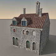 Edifício Italiano 027 3d model