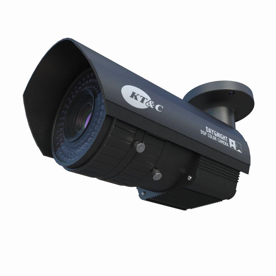 внутренняя камера видеонаблюдения royalty-free 3d model - Preview no. 2