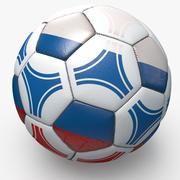 Soccer triangles pro Russie 3d model
