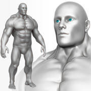 Muscular Man 3 Zbrush Sculpt 3d model