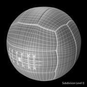 复古足球温布利 3d model