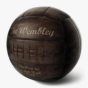 Vintage futbol topu Wembley 3d model