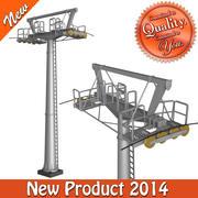 Cableway Small Pillar 3d model