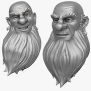 Man with Beard 1 3d model