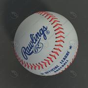 Béisbol modelo 3d