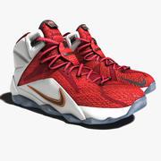 Lebron James 12 schoenen 3d model