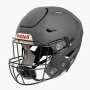 Riddel Speedflex Helmet Gray Matte 3d model