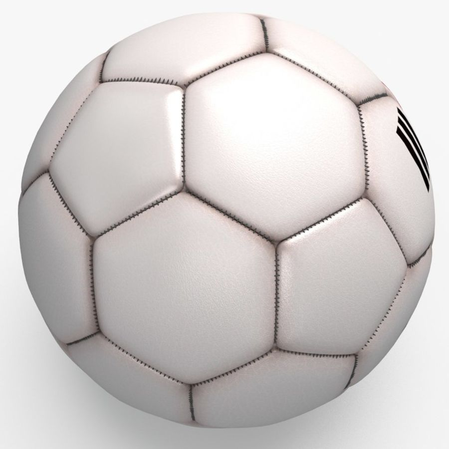 Soccerball pro clean Korea royalty-free 3d model - Preview no. 1