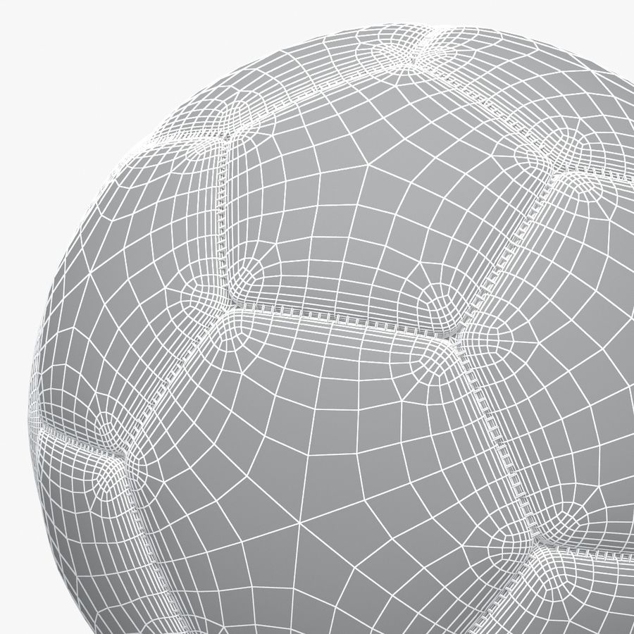 Soccerball pro clean Korea royalty-free 3d model - Preview no. 6
