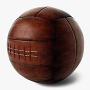 Vintage Futbol Topu 3d model
