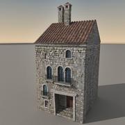 Italiaans gebouw 023 3d model